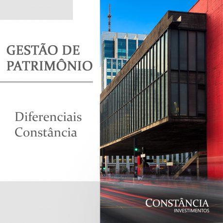 Gestão de Patrimônio: diferenciais Constância
