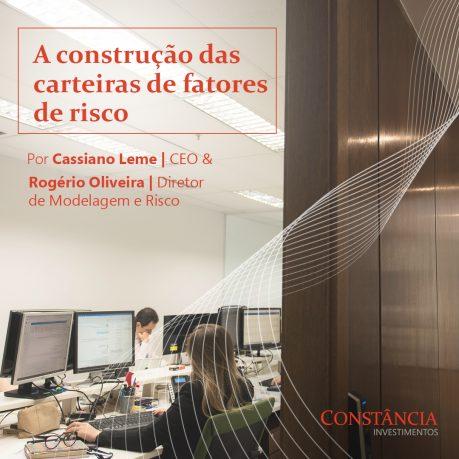A construção das carteiras de fatores de risco