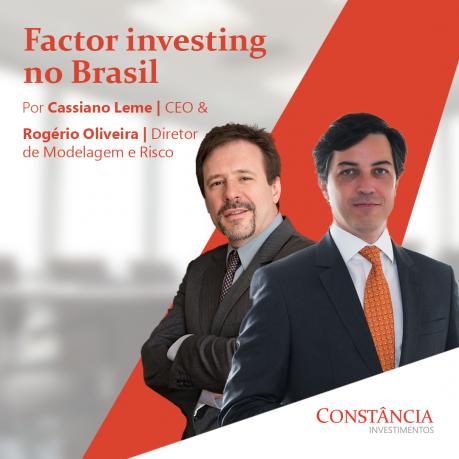 Factor investing no Brasil