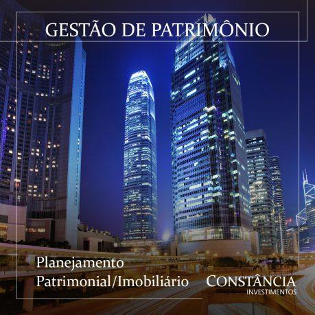 Gestão de Patrimônio: planejamento patrimonial/imobiliário