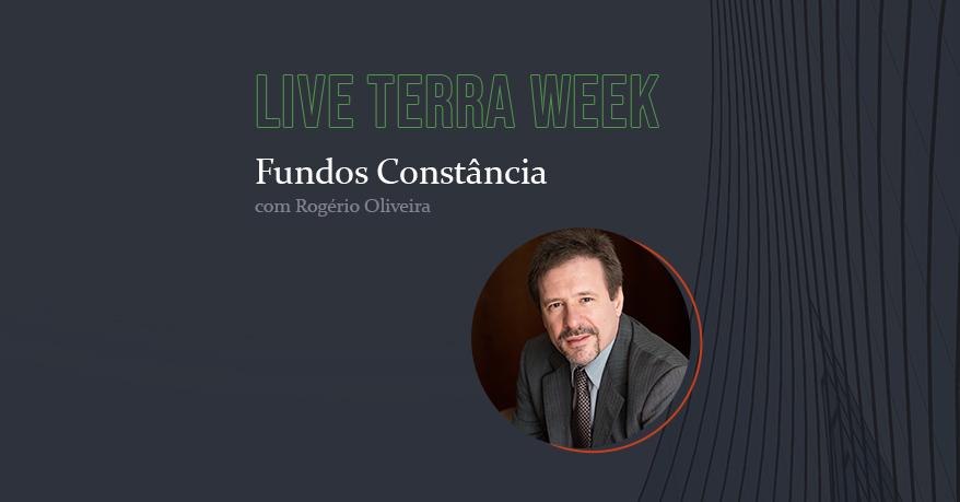 Fundos Constância é tema central de live com a Terra Investimentos