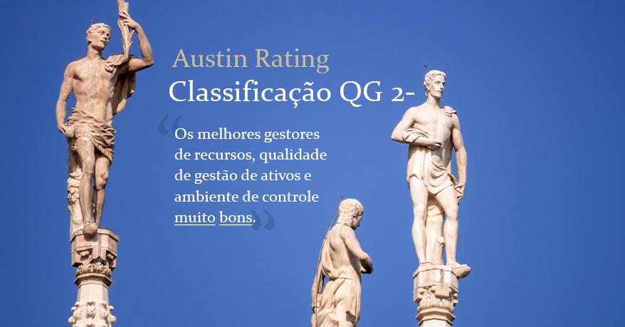 Austin Rating eleva graduação da Constância Investimentos de (QG 3+) para (QG 2-)